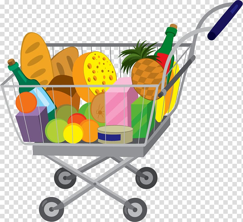 3 girls grocery shopping clipart clipart images gallery for.