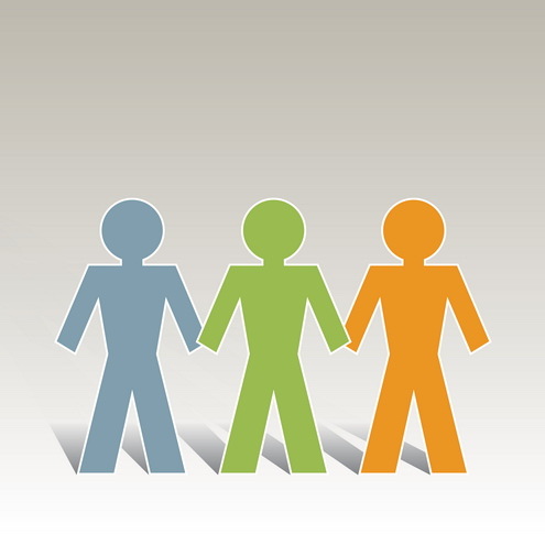 Group Of 3 Clipart.