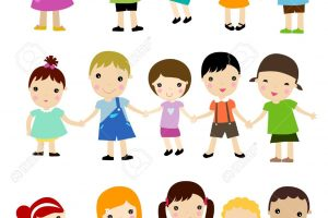 Groups of kids clipart 3 » Clipart Station.