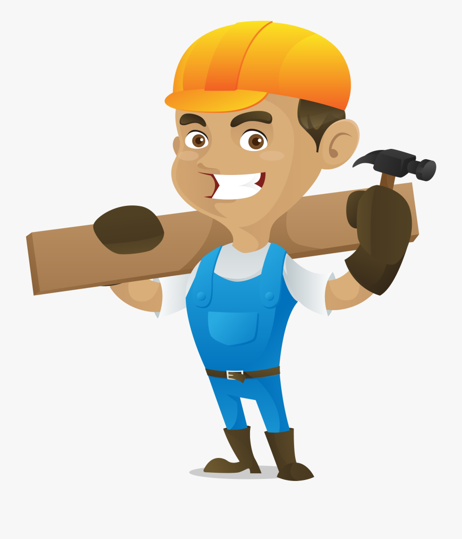 Handyman Clipart Maintenance Guy.