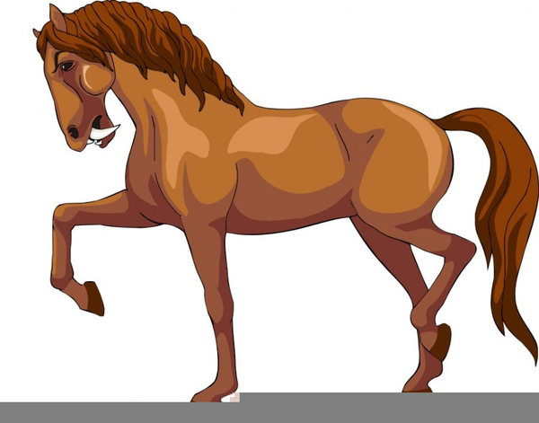 Animated Horse Running Clipart.