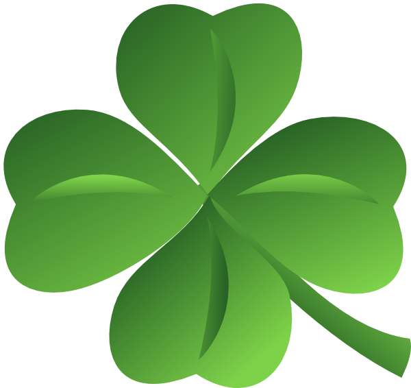 Irish clipart four leaf clover, Irish four leaf clover.
