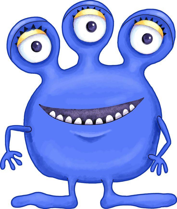 Cartoon Alien Monsters!.