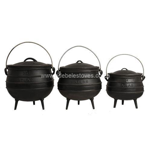 3 legged pots.