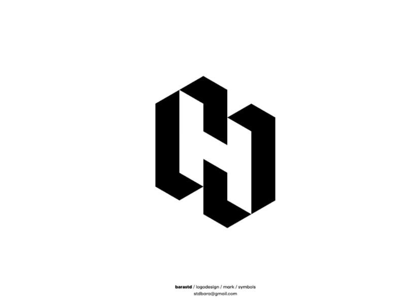 3 Letters Logo Design by barastd on Dribbble.