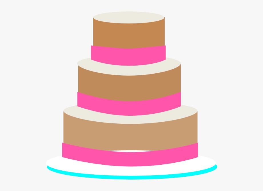 Wedding Cake Clip Art.