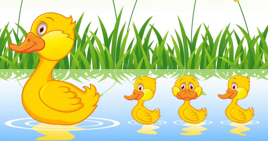 3 little ducks clipart clipart images gallery for free.