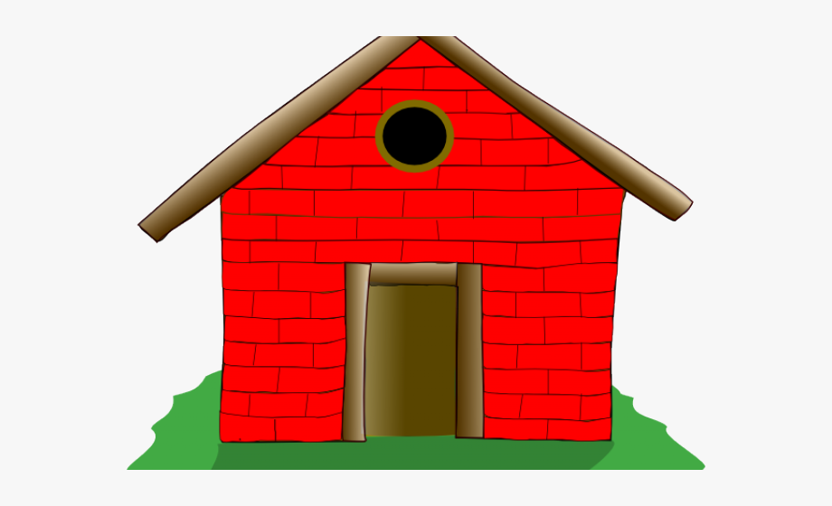 Old House Clipart Straw House.