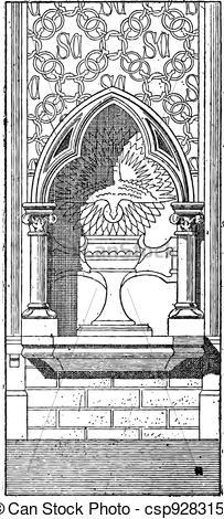 Vector Clip Art of Lobe, vintage engraving.