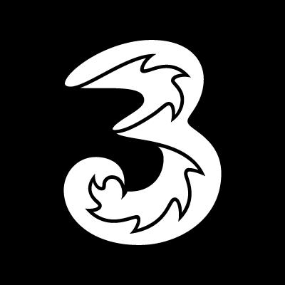 3 Mobile vector logo.