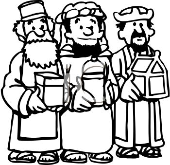Wise men clipart 3 » Clipart Station.