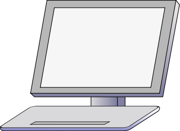 Free Computer Monitor Clipart, 3 pages of Public Domain Clip Art.