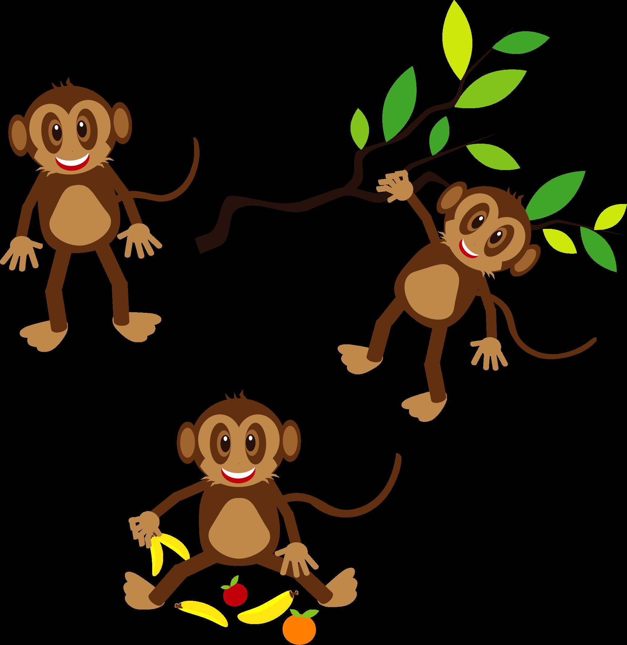 Monkeys Clipart.