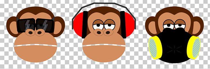 Three Wise Monkeys PNG, Clipart, Animals, Blog, Cartoon.