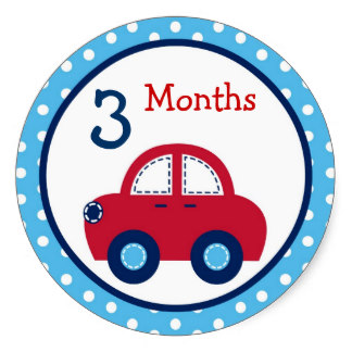 3 Months Old Clipart.
