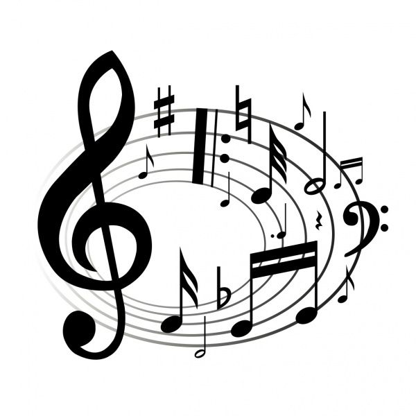 Musical notes single music notes clip art free clipart.