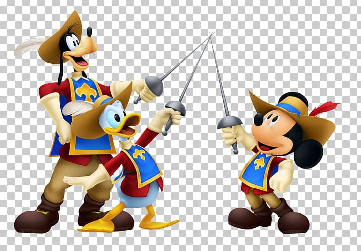 Mickey Mouse Donald Duck Minnie Mouse The Three Musketeers.