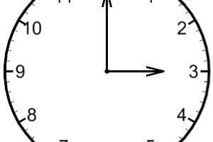 3 o'clock clipart 1 » Clipart Portal.