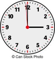 3 o'clock Vectors, Vector Clipart & EPS images.