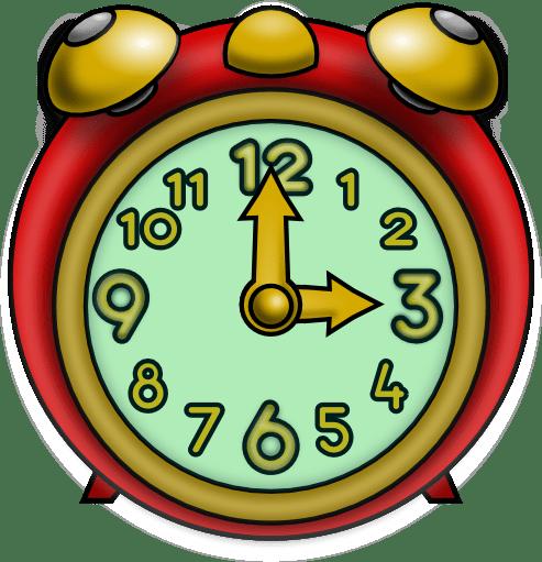Three O\'clock Clipart transparent PNG.