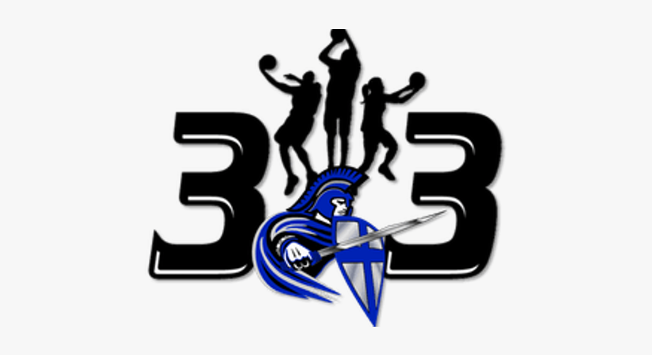 3 On 3 Basketball Clipart.