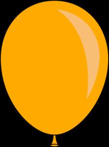 Orange Balloon Clip Art at Clker.com.