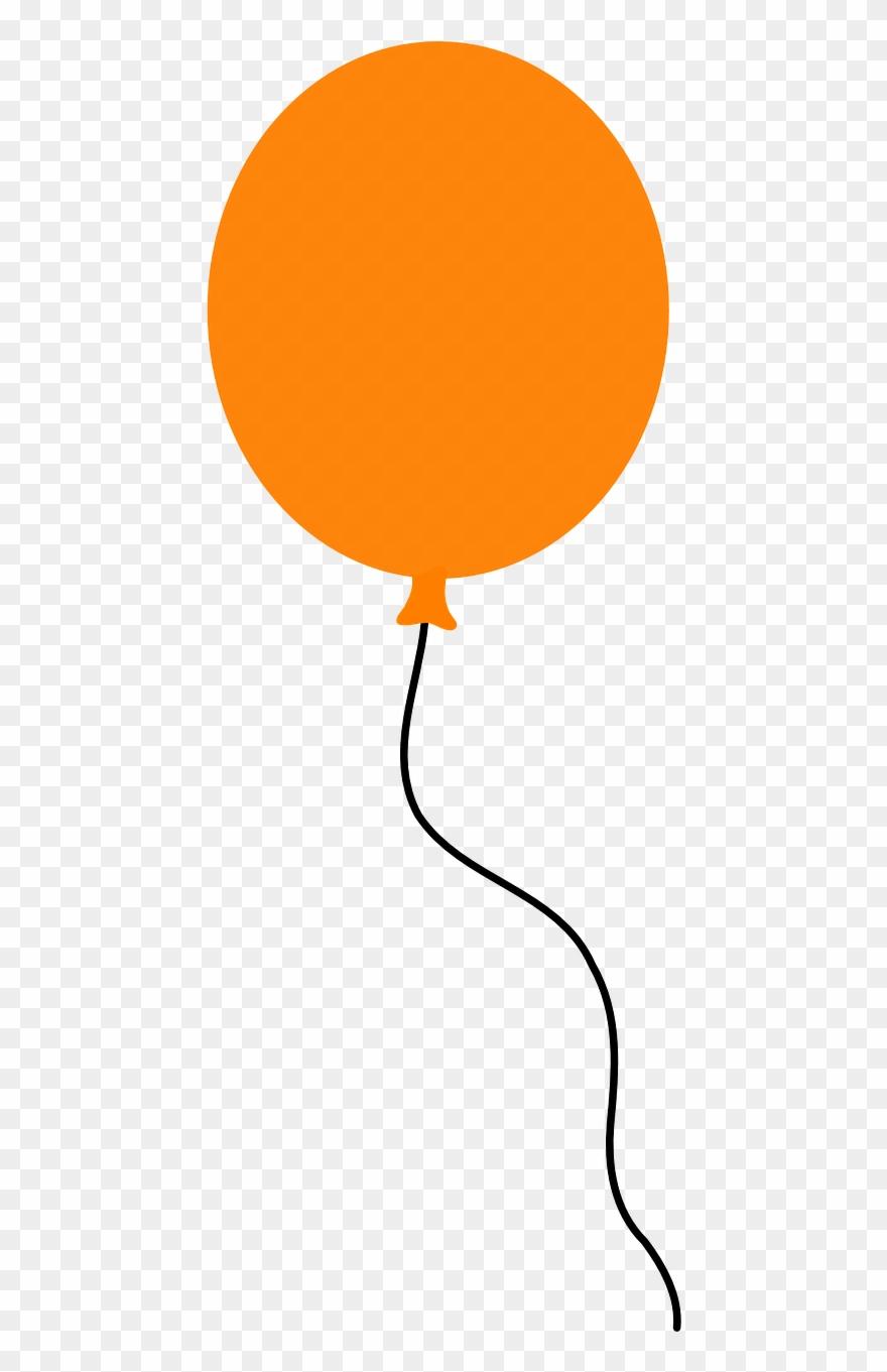 Clipart balloons orange, Clipart balloons orange Transparent.
