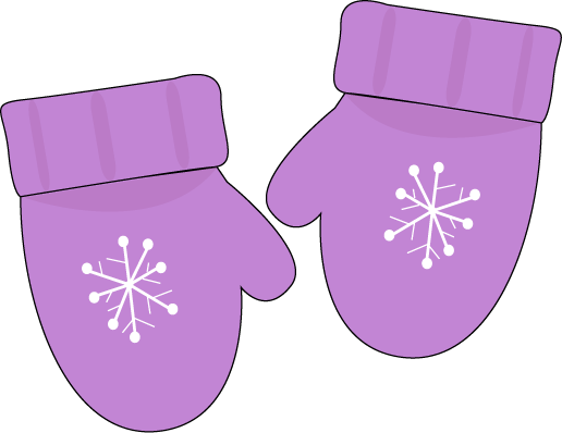 Mittens and gloves clipart 3.