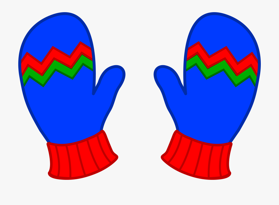 574 Mittens free clipart.