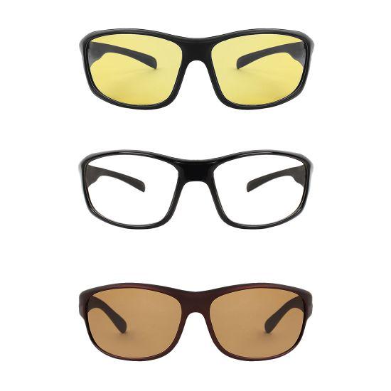 sunglasses combo ( 3 pairs of sunglasses ).