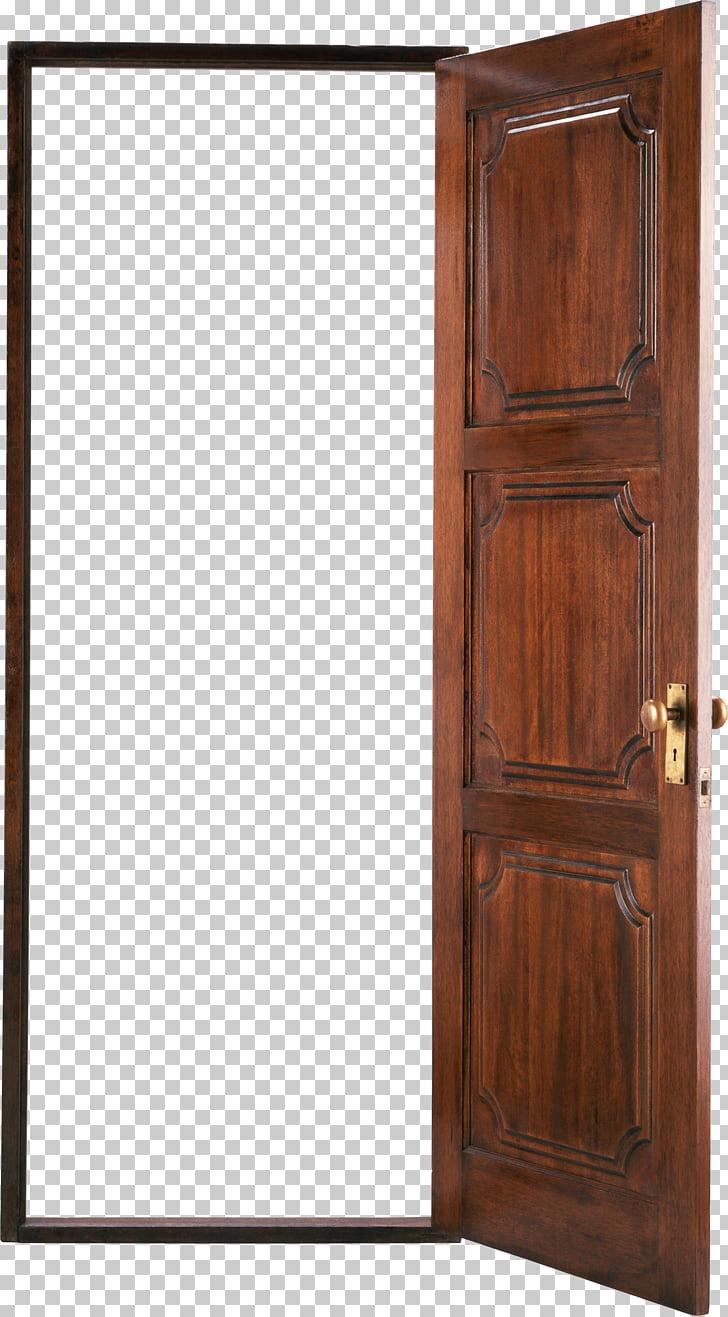 Door , door, opened brown 3.