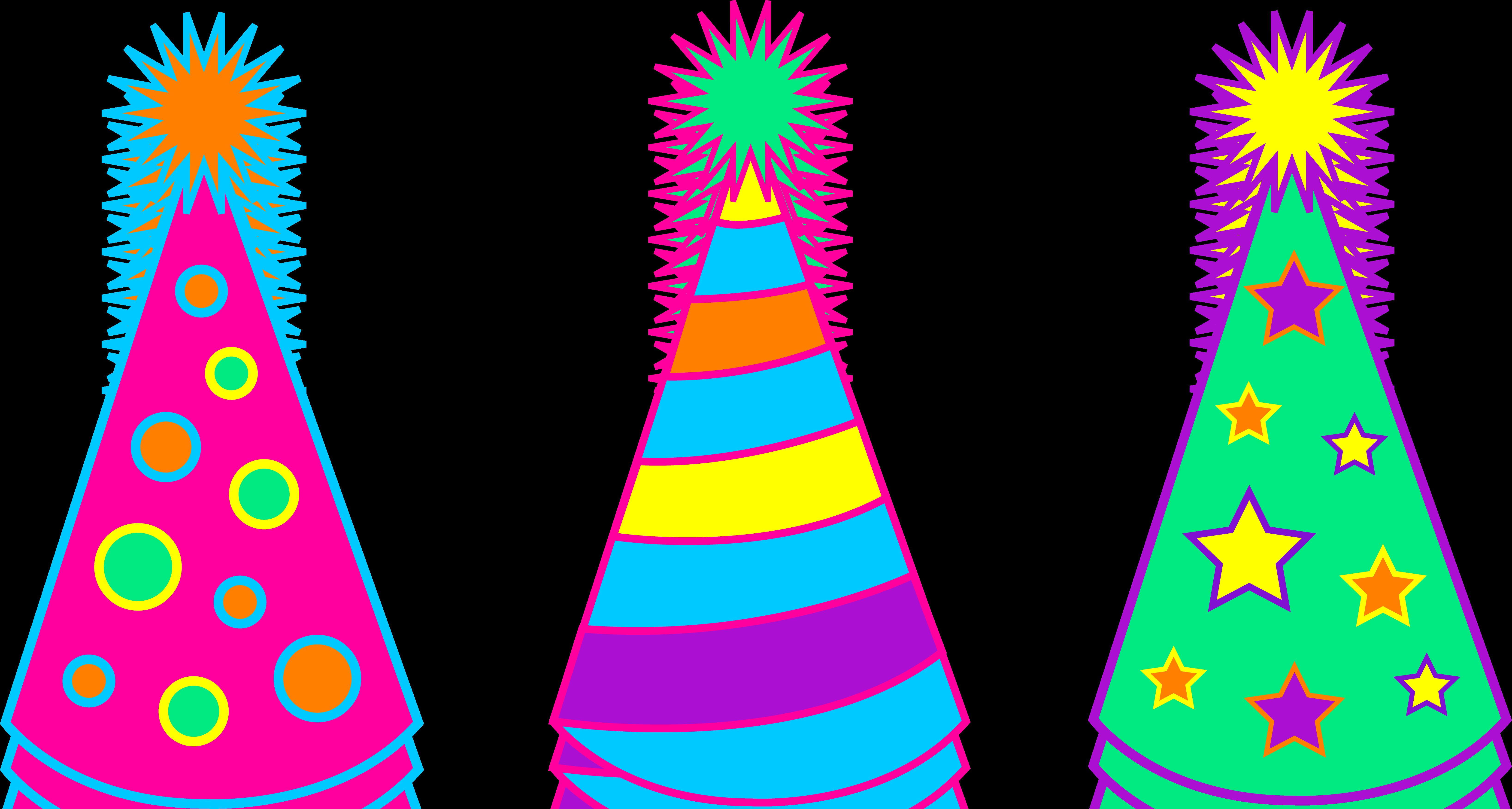 Party Hat Clip Art & Free Party Hat Clip Art.png Transparent.