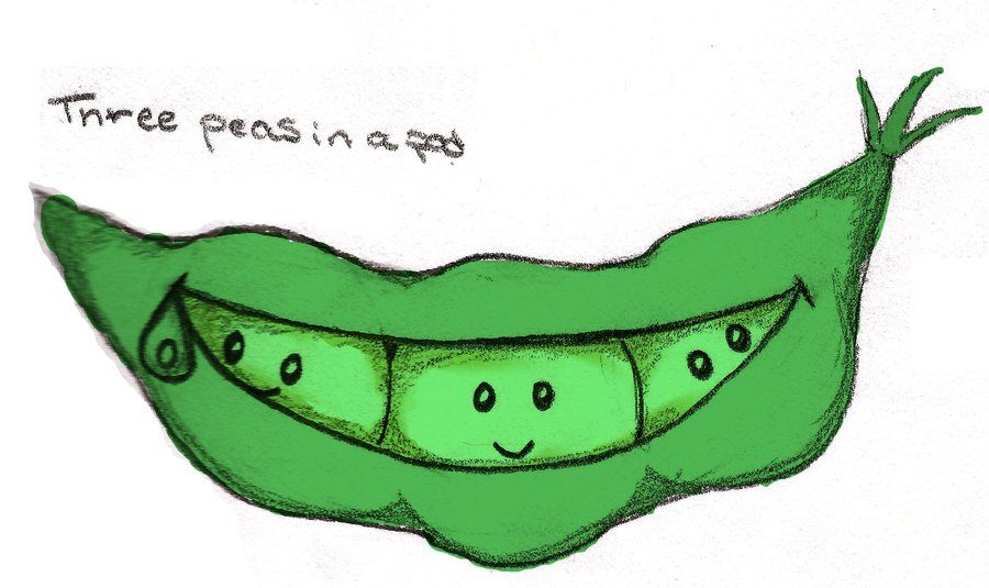 3 Peas in a Pod by ~Laural0u.
