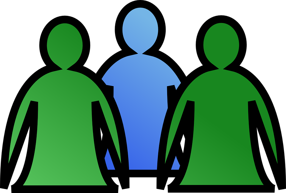 Free vector graphic: Group, People, Team, Men, Users.