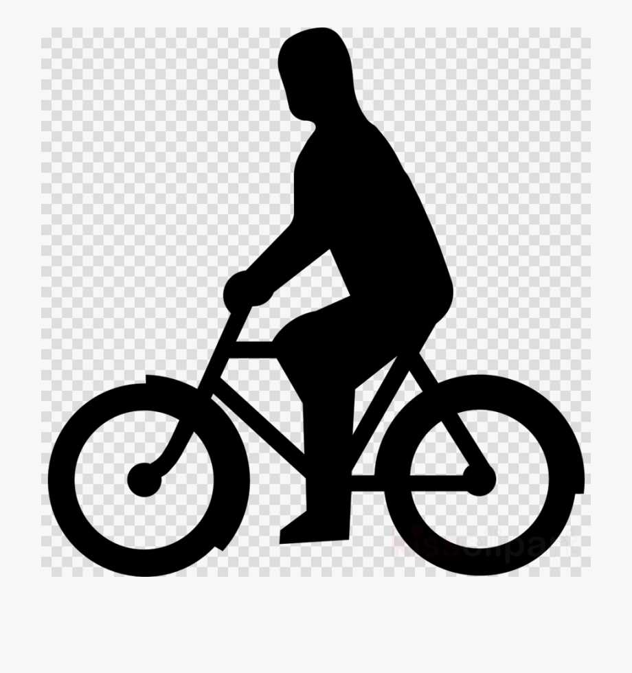 Person Riding Bike Clipart Bicycle Cycling Clip Art.
