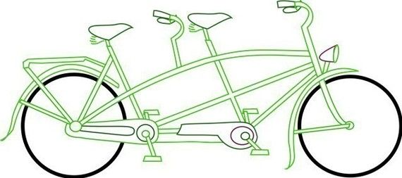 Tandem cycle in Embroidery Patterns for 3 cycles. See this.