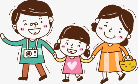4 person family clipart 3 » Clipart Station.