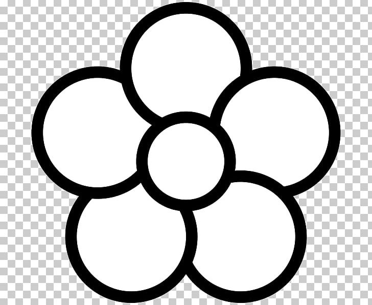 Petal Flower Computer Icons PNG, Clipart, Area, Black And.