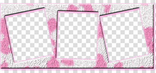 Frames , pink and gray.