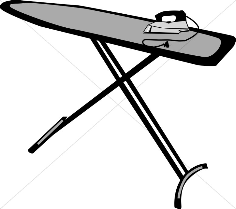 Ironing board clipart 3 » Clipart Station.