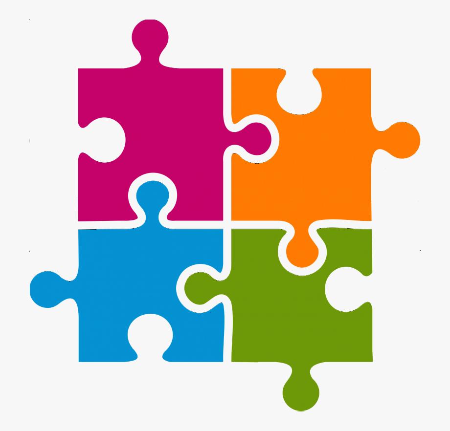 Puzzle Clip Art Green Jigsaw Piece.