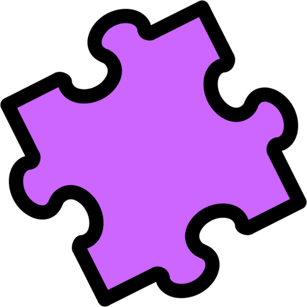 Puzzle piece gallery for 3 piece jigsaw clip art.