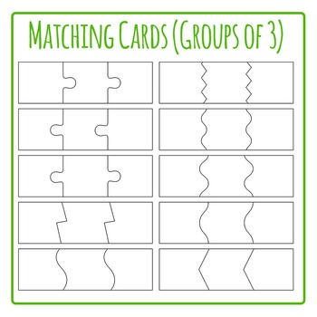 Matching Cards for 3 Template.