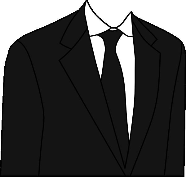 Black Suit Clip Art at Clker.com.