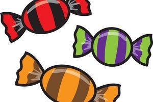 3 pieces of candy clipart Transparent pictures on F.