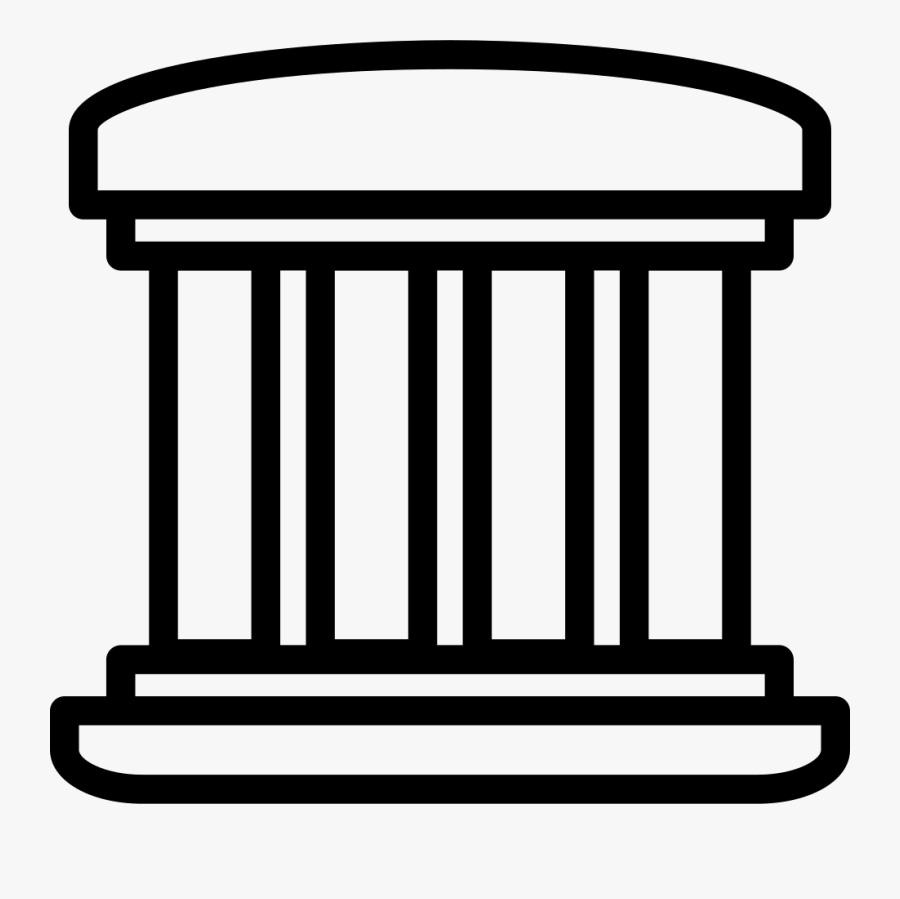 4 Pillar Icon , Free Transparent Clipart.