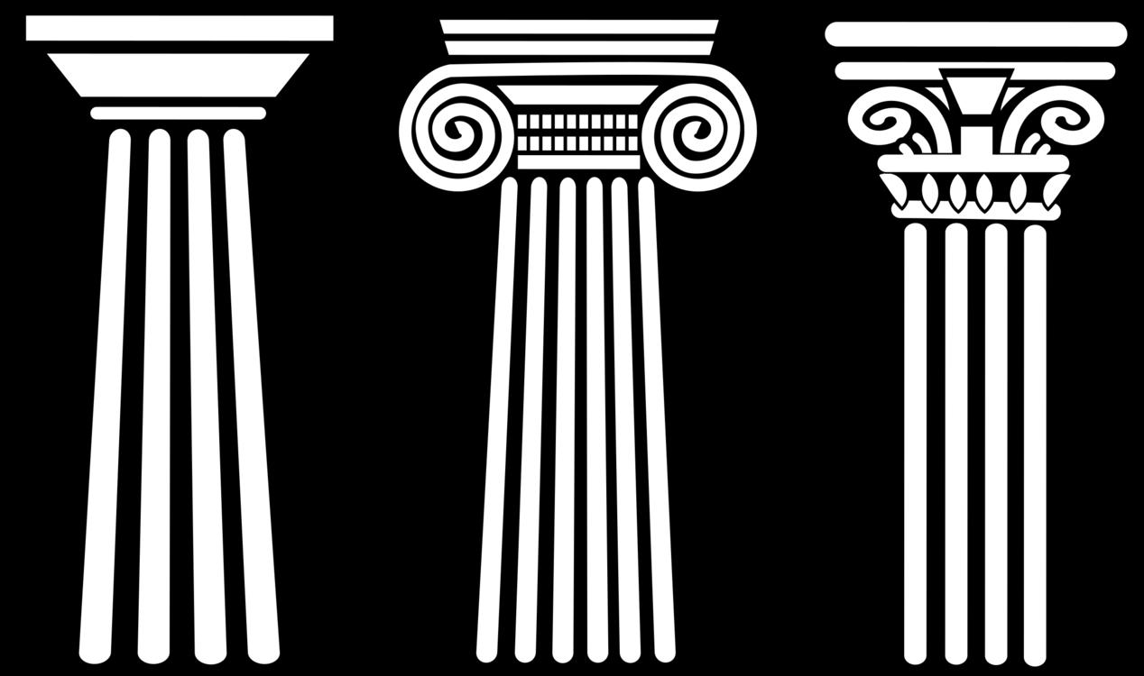 Roman Pillar Vector at GetDrawings.com.