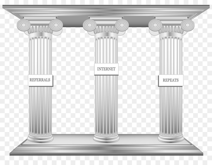 column clipart 3 Pillars of Success Internet YouTube clipart.
