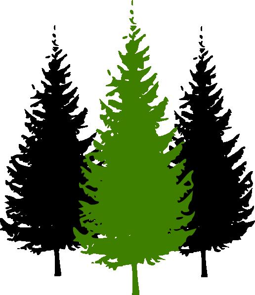 3pinetrees Clip Art at Clker.com.