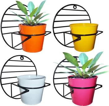 ascent homes Ascent Homes Wall Mount Metal Planter Stand.